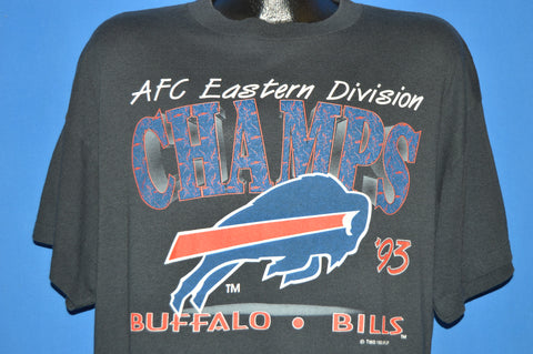 90s Buffalo Bills 1993 Eastern Division Champs t-shirt Extra Large
