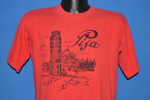 80s Leaning Tower Of Pisa Tourist t-shirt Large