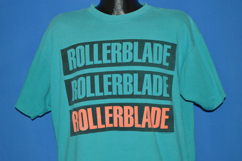 90s Rollerblade Neon Extreme Skate t-shirt Extra Large