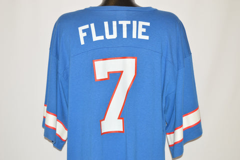90s Buffalo Bills Doug Flutie Jersey t-shirt Extra Large