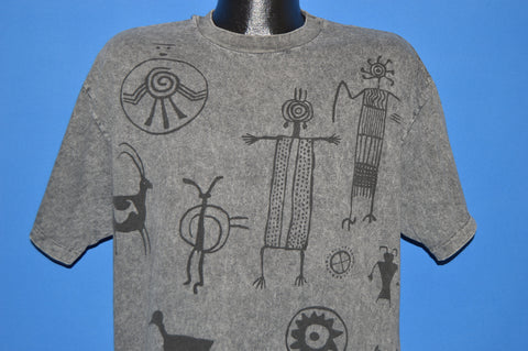 90s New Mexico Native American t-shirt Extra Large