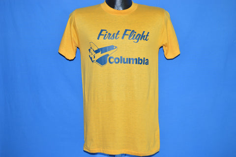 70s Space Shuttle Columbia NASA t-shirt Small