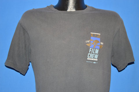 80s U2 Joshua Tree Live Film Crew 1987 t-shirt Large