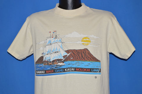 70s Hawaii Islands Sailing Tourist t-shirt Large