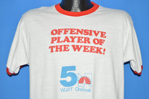 80s Offensive Player of the Week t-shirt Large