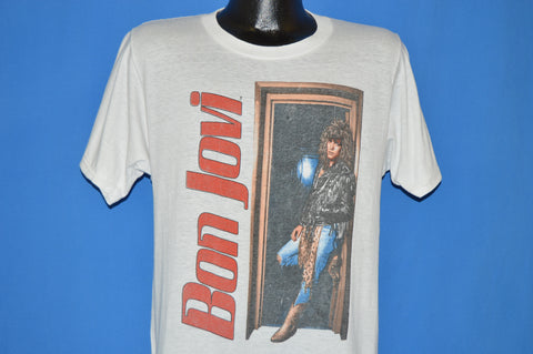 80s Bon Jovi You Give Love a Bad Name t-shirt Medium
