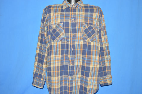 80s JC Penny Big Mac Work Flannel Long Tall shirt Large