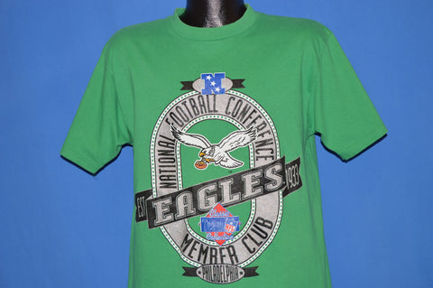 90s Philadelphia Eagles Kelly Green t-shirt Large