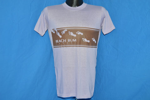 80s Beach Bum Vacation Light Purple t-shirt Small