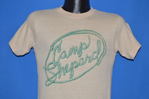 70s Camp Shepard Lasso Cowboy Rope t-shirt Small