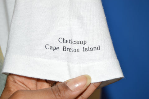 80s Baby Seals Cheticamp Cape Breton Island t-shirt Large