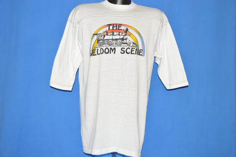 70s The Seldom Scene Old Train Blue Grass t-shirt Large