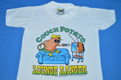 80s Couch Potato Lounge Ranger Funny t-shirt Youth Small