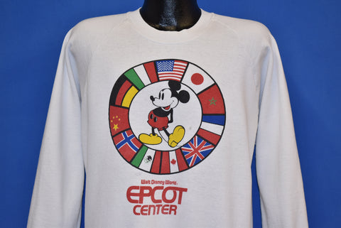 80s Epcot Center Walt Disney World Sweatshirt Large