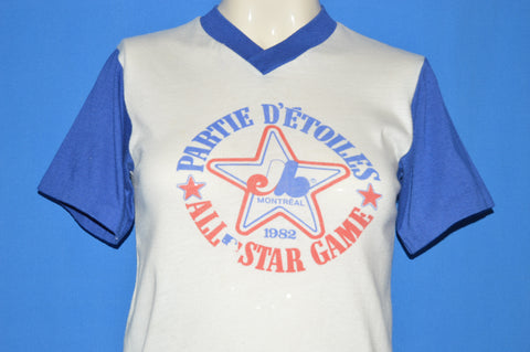 80s Montreal Expos All Star Game 1982 t-shirt Youth Large