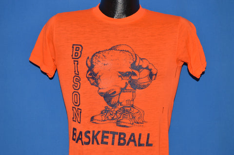 80s Howard Bisons Basketball Distressed t-shirt Small