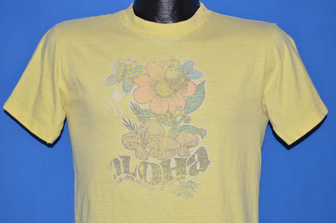70s Aloha Flowers And Bees Tourist t-shirt Medium