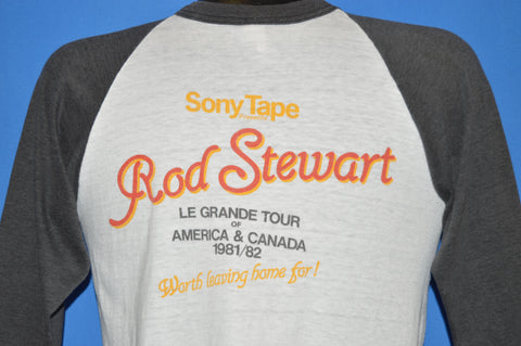 80s Rod Stewart Tonight I'm Yours Le Grande Tour t-shirt Medium