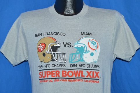 80s San Francsico 49ers 1984 Super Bowl t-shirt Small