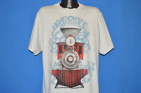 90s Railroad Steam Engine Caboose t-shirt Extra Large