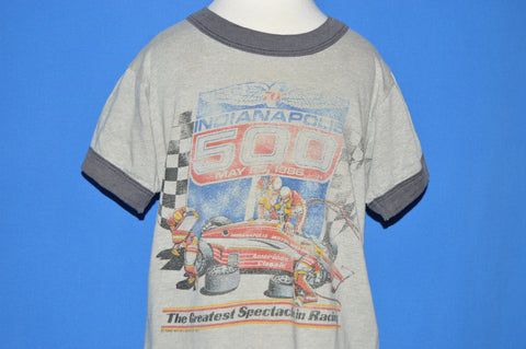 80s Indianapolis 500 Greatest Spectacle 1986 Ringer t-shirt 3T