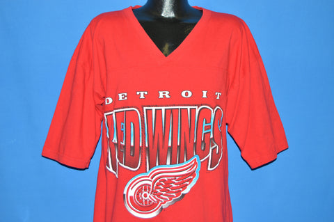 90s Detroit Red Wings Jersey t-shirt Large