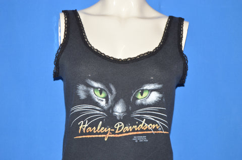90s Harley Davidson Cat Eyes Daytona Bike Week Women's Tank Top Medium
