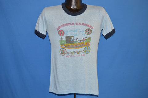 80s Rockome Gardens Amish Carriage Ringer t-shirt Small