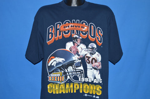 90s Denver Broncos 1998 Super Bowl Champions t-shirt Extra Large