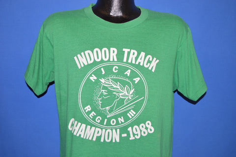 80s Indoor Track NJCAA Champion 1988 t-shirt Large