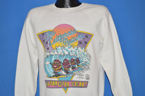 80s California Raisins Hangin' Ten Sweatshirt Medium
