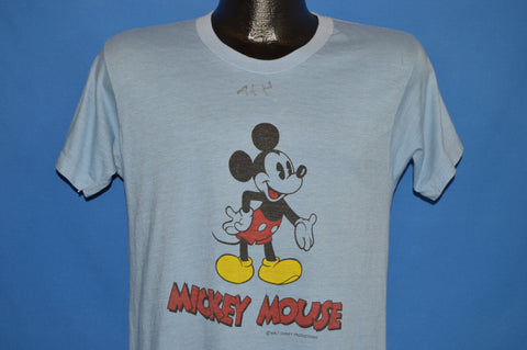 70s Mickey Mouse back to Front t-shirt Medium