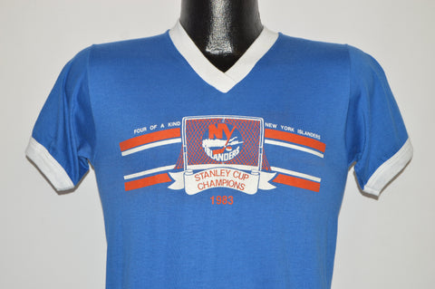 80s New York Islanders 1983 Stanley Cup t-shirt Small