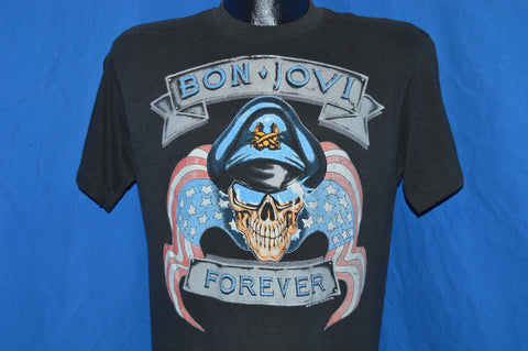 80s Bon Jovi Forever The Brotherhood 1989 Tour t-shirt Medium