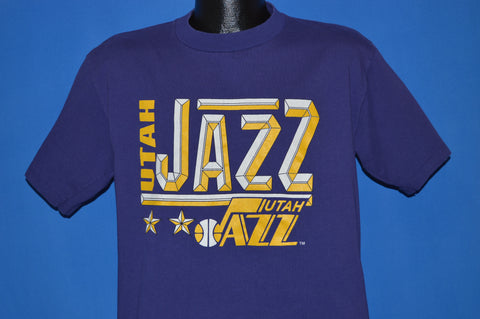 80s Utah Jazz Basketball t-shirt Large