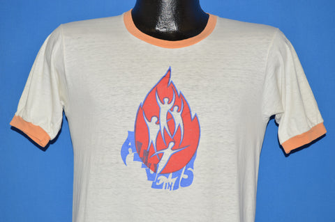 70s Alive In 75 Ringer t-shirt Medium
