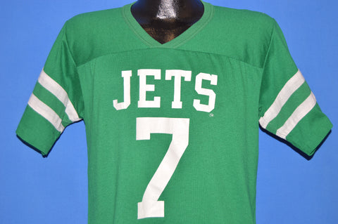 80s New York Jets #7 Ken O'Brien Jersey t-shirt Medium