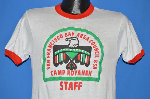 80s Camp Royaneh Staff San Francisco Ringer t-shirt Small