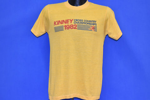 80s Kinney Cross Country Championships 1982 t-shirt Small