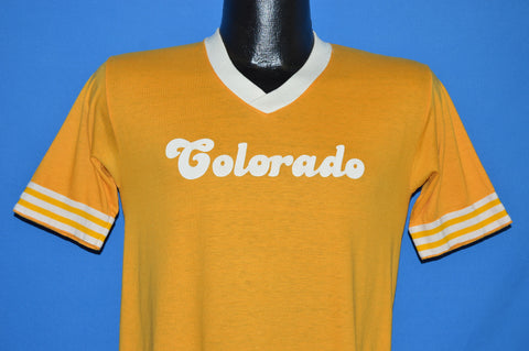 80s Colorado Ringer Jersey t-shirt Small