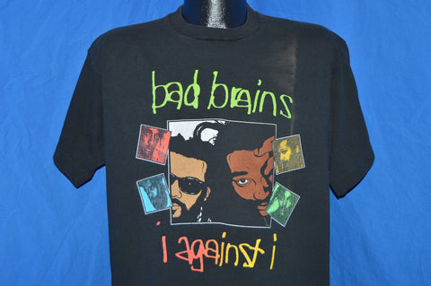 80s Bad Brains I Against I Punk t-shirt Extra Large