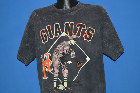 90s New York Giants Acid Wash t-shirt Extra Large
