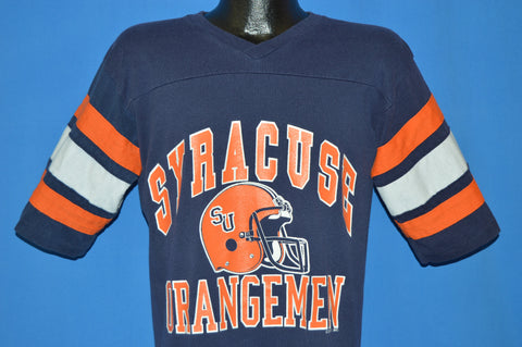 80s Syracuse Orangemen Football Jerset t-shirt Medium