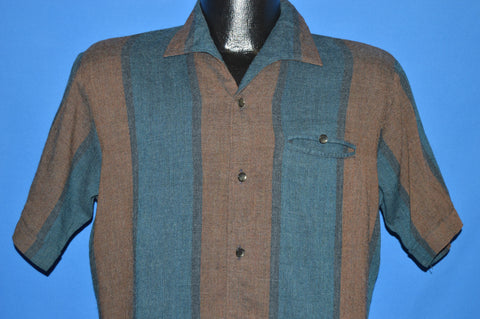 50s Wayne C. Wilcox Rockabilly shirt Medium