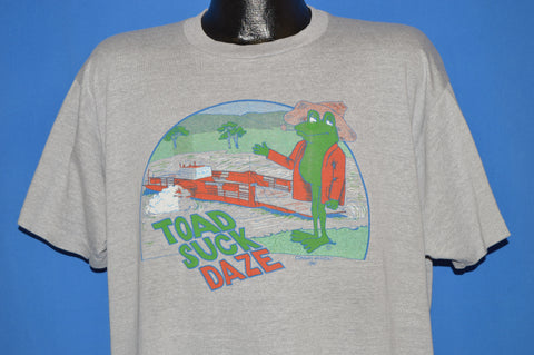 80s Arkansas Toad Suck Daze Festival t-shirt Extra Large