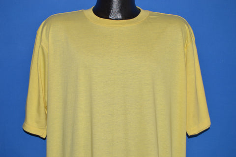 80s Skimmers Yellow Blank Deadstock t-shirt XXL