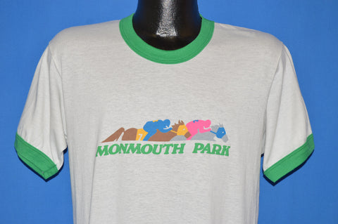 80s Monmouth Park Horse Racing t-shirt Large