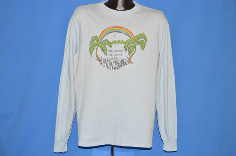 80s Baba's Rainbow Jost Van Dyke Long Sleeve t-shirt Extra Large