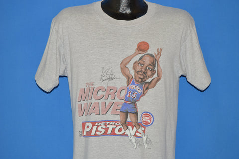 80s Detroit Pistons Vinnie Johnson The Microwave t-shirt Medium