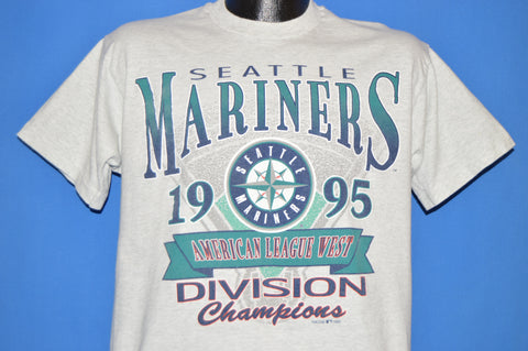 90s Seattle Mariners 1995 AL West Division t-shirt Large